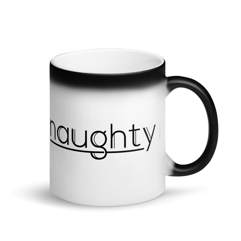 Naughty - Magic Mug