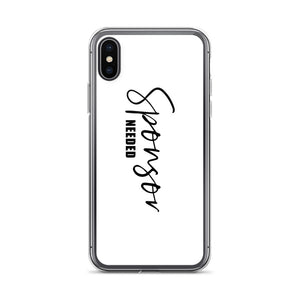 Sponsor Needed - iPhone Case