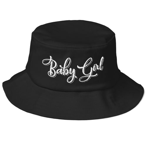 Baby Girl - Old School Bucket Hat