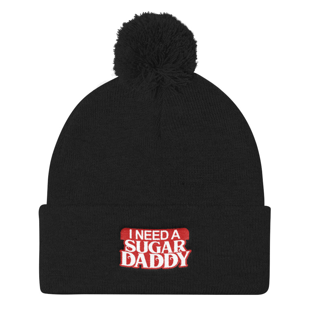 I Need A Sugar Daddy - Knit Beanie