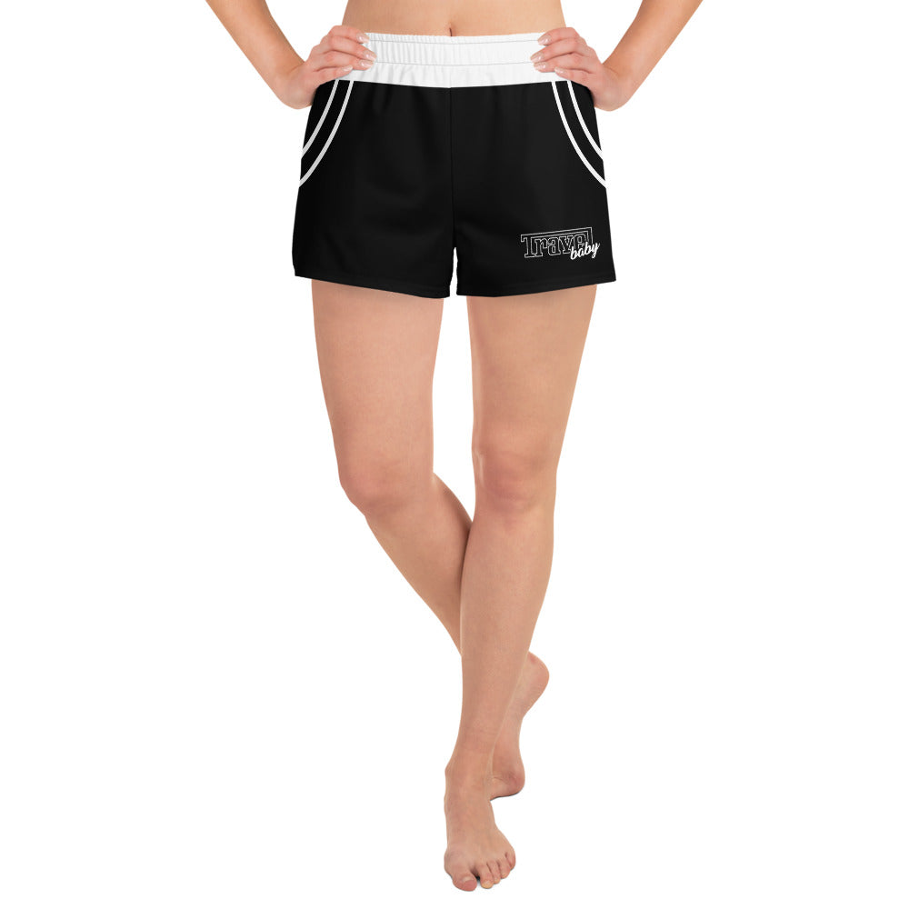 Travel Baby - Women's Athletic Shorts