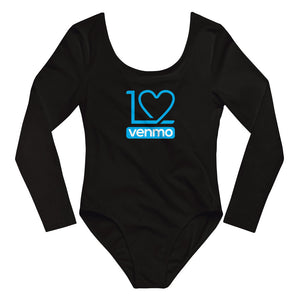 I Love Venmo - Long Sleeve Bodysuit