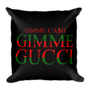 Gimme Gucci - Throw Pillow