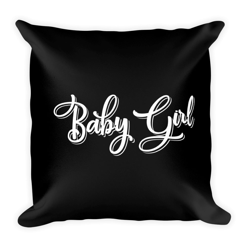 Baby Girl - Throw Pillow
