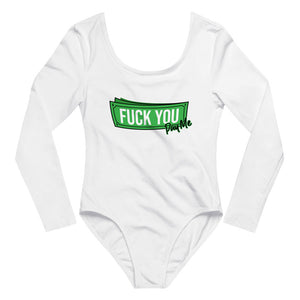 Fuck You Pay Me - Long Sleeve Bodysuit