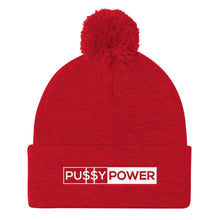 Load image into Gallery viewer, Pussy Power - Knit Beanie
