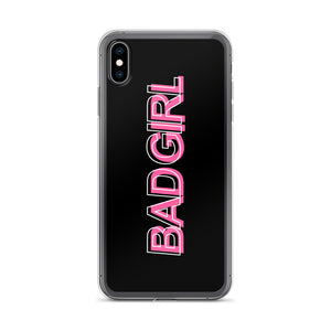 Bad Girl - iPhone Cell Phone Case (Black)