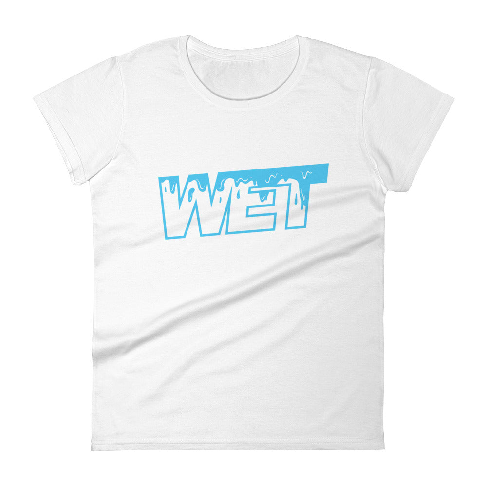 Wet - Women's short sleeve t-shirt