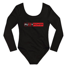 Load image into Gallery viewer, Pussy Power - Long Sleeve Bodysuit