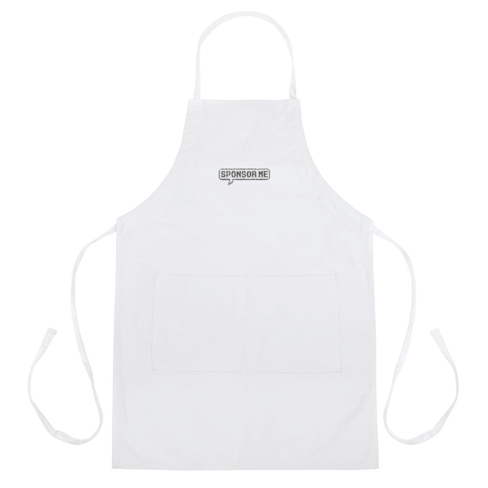 Sponsor Me - Embroidered Apron