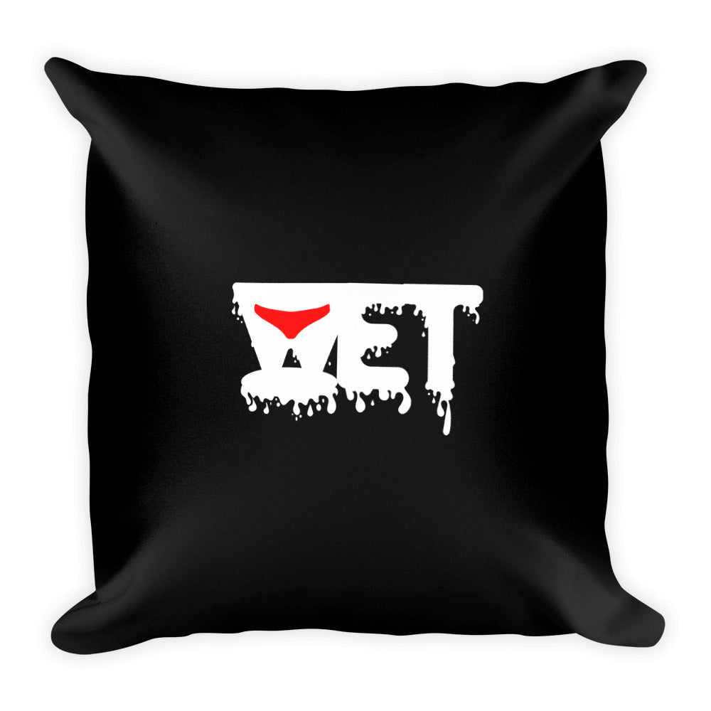 Wet - Throw Pillow