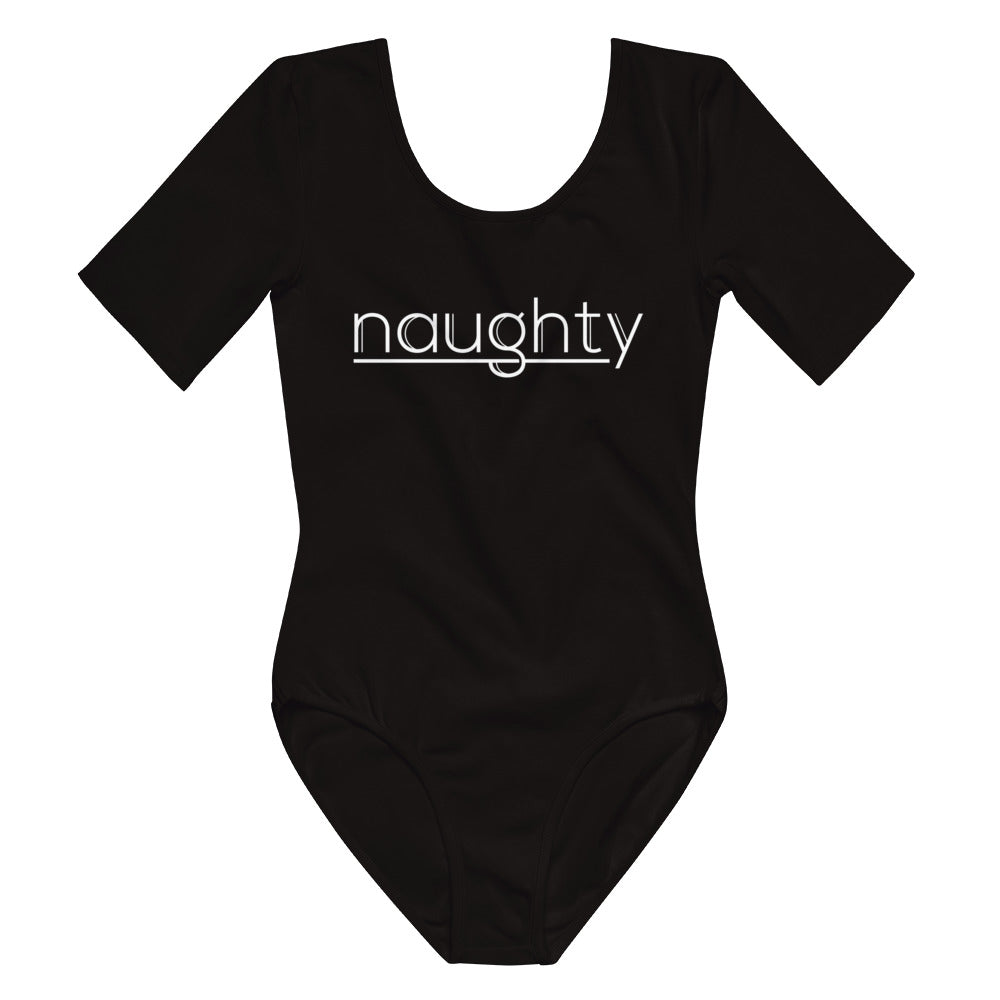 Naughty - Short Sleeve Bodysuit