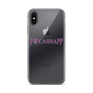 I Love Cash App - iPhone Case