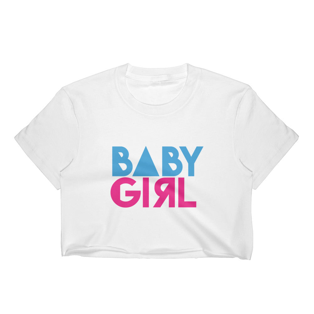 Baby Girl - Women's Crop Top