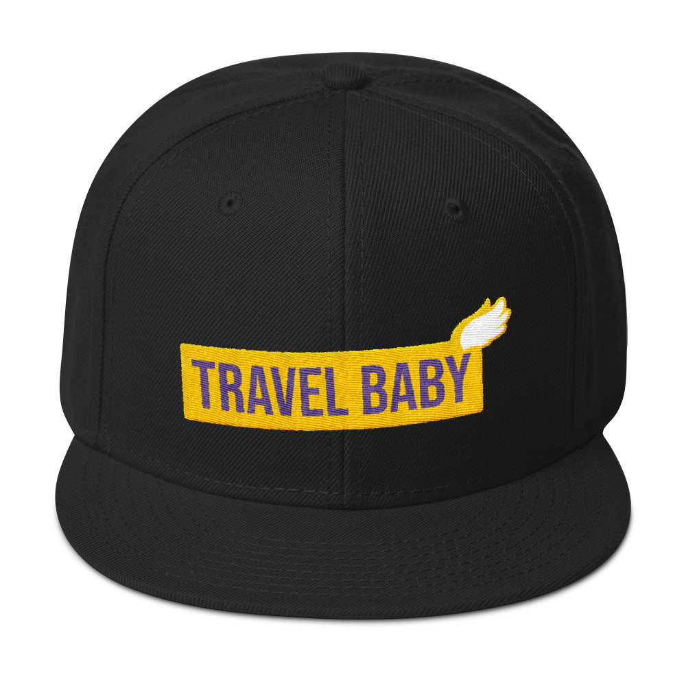 Travel Baby - Snapback Hat
