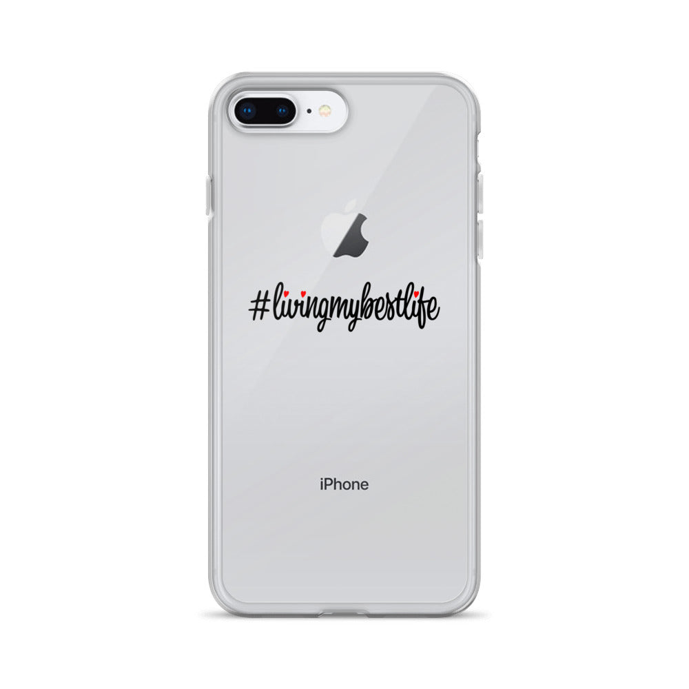 #LIVINGMYBESTLIFE - iPhone Case