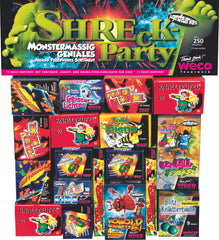 Shrek party vuurwerk pakket