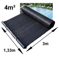 Zonnecollectoren Poolsolar 4 m²