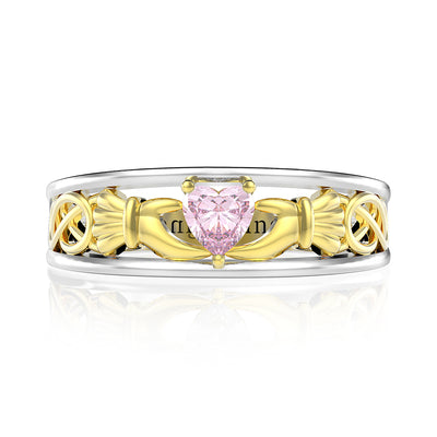Wiley Hart Lovely Pink Sapphire Women's Ring Marquise Cut