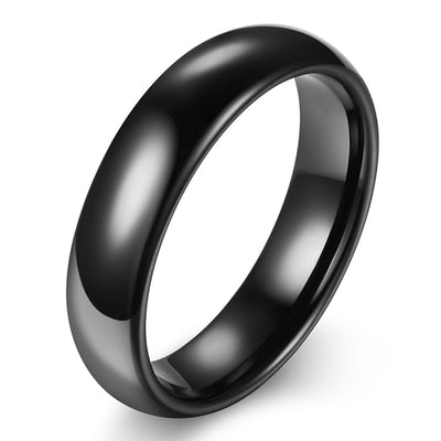 Wiley Hart Black Men's Wedding Band Men's Ring Stylish Men's Wedding Ring