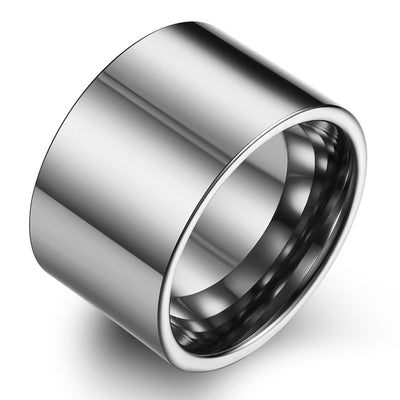 Wiley Hart Men's Wedding Band Mens Ring Mens Wedding Ring Mens Rings White Gold or Silver