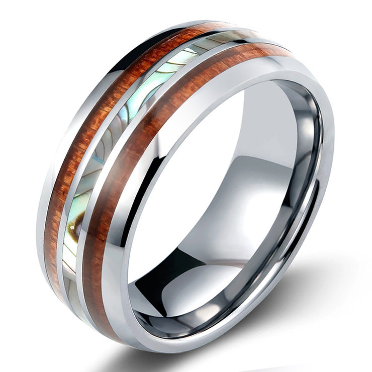 Wiley Hart Stylish Mosaic Men's Wedding Band Men's Ring Men's Wedding Ring Unique Ring for Men