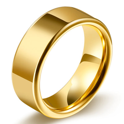 Wiley Hart  Unique Men's Wedding Band Mens Ring Mens Stylish Wedding Ring Gold Ring for Men