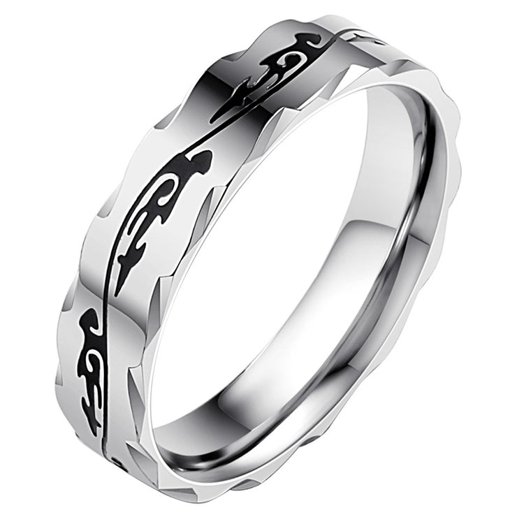 Wiley Hart Unique Titanium Men's Wedding Band Men's Ring Men's Wedding Ring Male Engagement Rings for Men