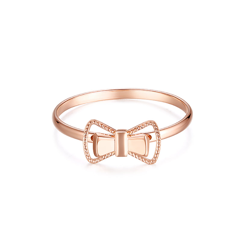 Wiley Hart Beautiful Women S Butterfly Knot Party Anniversary Ring Ban