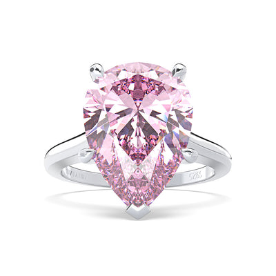 Wiley Hart Women's Pear Sapphire Ring Engagement Ring Cocktail Ring