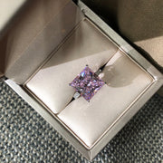 Sample Sale Women's Princess Cut Sapphire Ring Engagement Ring Cocktail Ring Wiley Hart