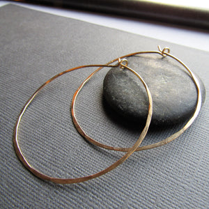 Classic Gold Hoops Extra Large