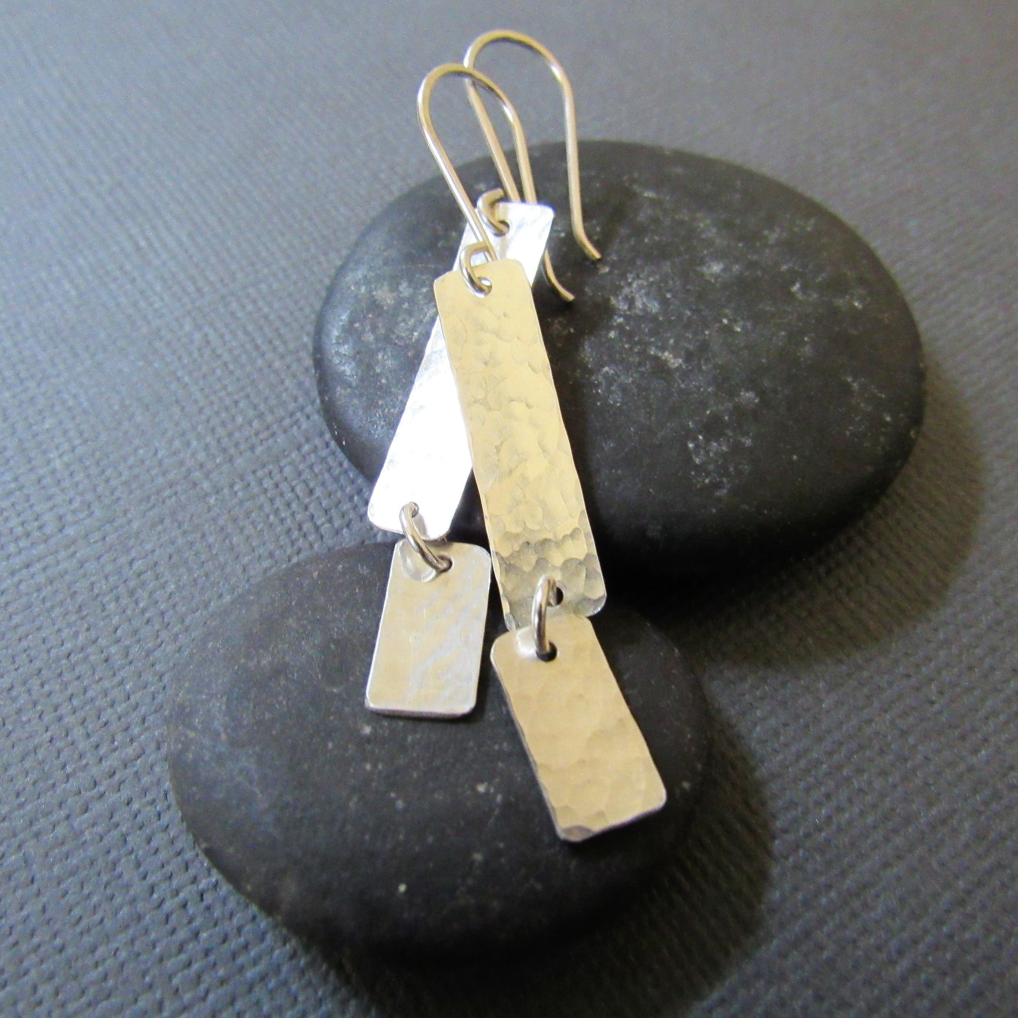 Sterling Silver Movement Earrings
