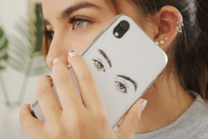 Eye Sketch iPhone Case