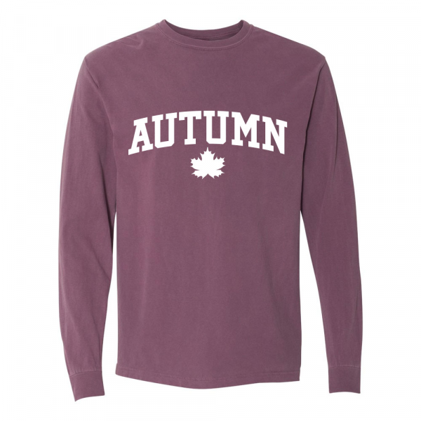 Autumn University Long Sleeves Tee