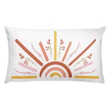 Load image into Gallery viewer, Sunshine & Rainbows Pillow