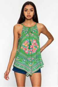 Drawstring Halter Top