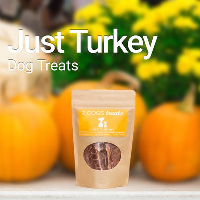 Just Turkey Treats - 3.5oz.