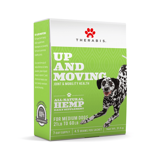 CBD Pet Care | Therabis – CBD for Dogs (Up and Moving 3 - 7mg CBD) | CBD Pure Beauty