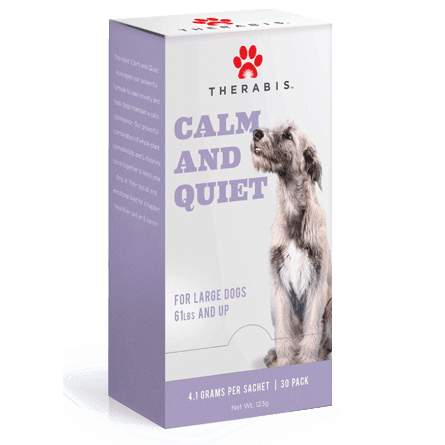 Therabis – Hemp for Pets (Calm and Quiet for Dogs - 2 - 5mg CBD)