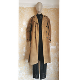 NSF PAINTED TRENCHCOAT SIZE P