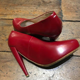 MARGIELA RED MINNIE MOUSE HEELS SIZE 39