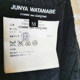 Junya Watanabe Grey Knit TWISTED CARDIGAN