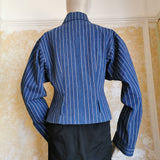 JOHN GALLIANO STRIPED ARCHIVE jacket