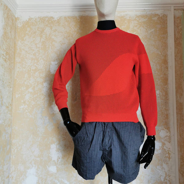 ALEXANDER MCQUEEN RED JUMPER