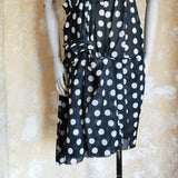 JUNYA WATANABE DRESS SHEER CUT OUT POLKA DOT DRESS