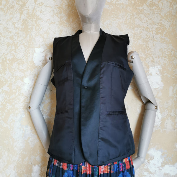A F VANDEVORST SLEEVELESS JACKET