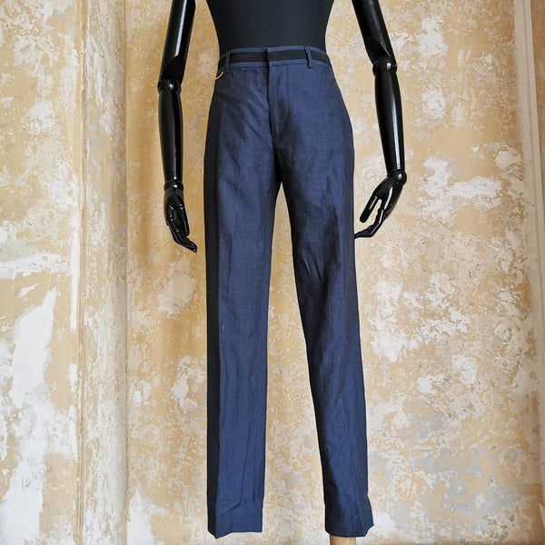MARC JACOBS COTTON /LINEN TROUSERS