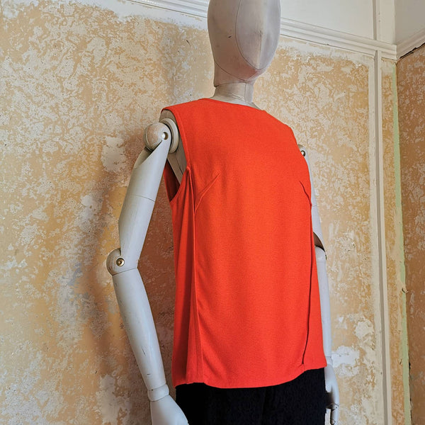 STELLA MCCARTNEY ORANGE TOP