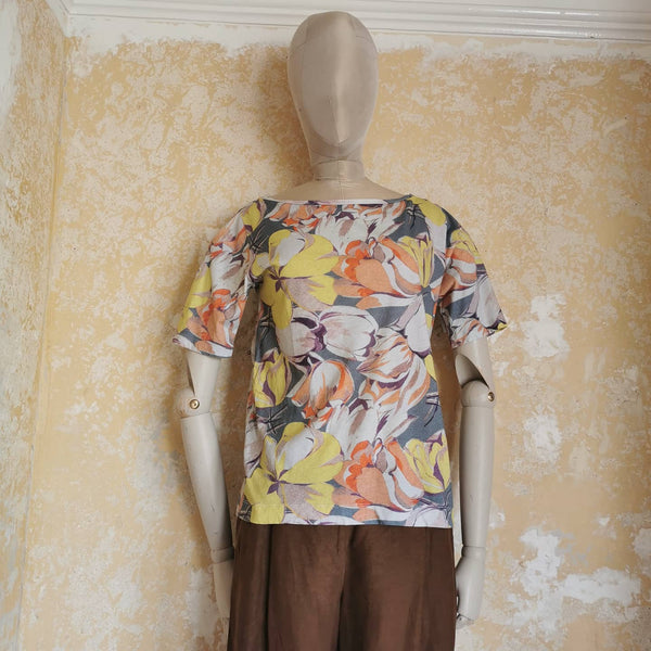 DRIES VAN NOTEN FLOWER TSHIRT